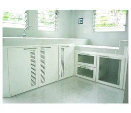 kitchen cabinet บ้านพฤกษ์ลดา , ชลลดา  แลนด์แอนด์เฮ้าส์